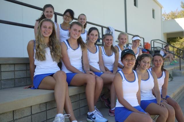Cate Girls' Tennis at Villanova