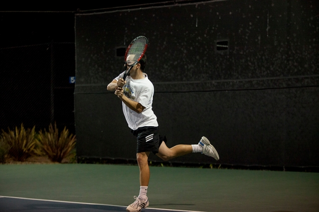 Men's Open Final Santa Barbara SB Tennis Patrons