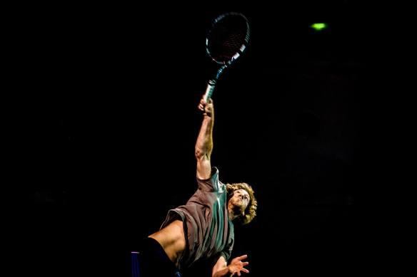 Santa Barbara Men's Open Final 2014 Leslie Allen