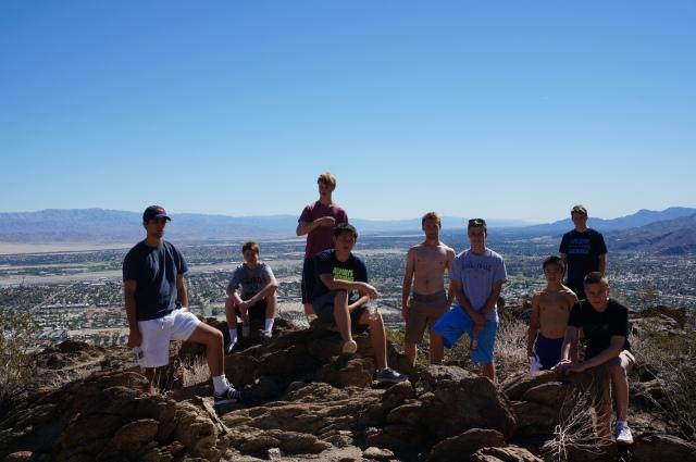 Laguna Blanca Tennis in Palm Springs Tournament Trip 2014
