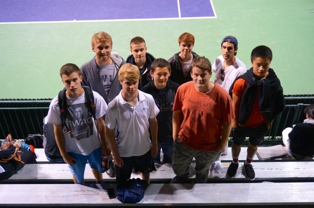 Laguna Blanca Tennis at BNP Paribas Tennis Tournament 2014