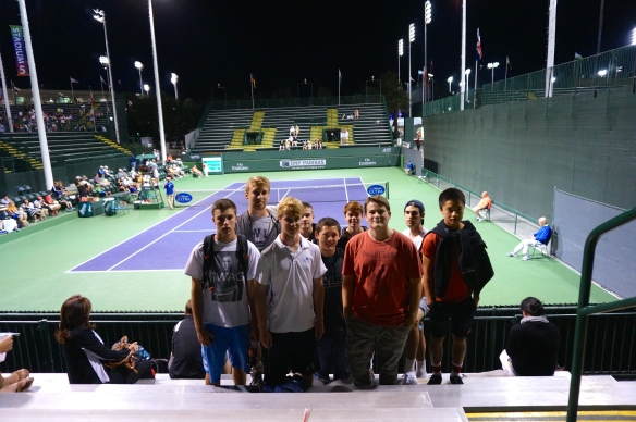 Laguna Blanca Tennis at Indian Wells Tournament 2014