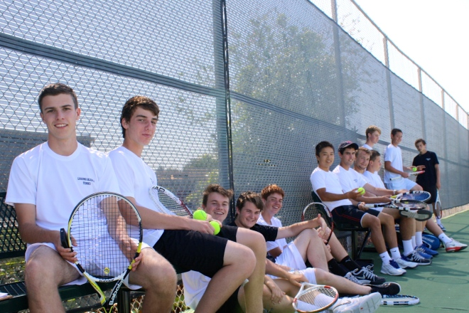 Laguna Blanca Boys' Tennis 2014