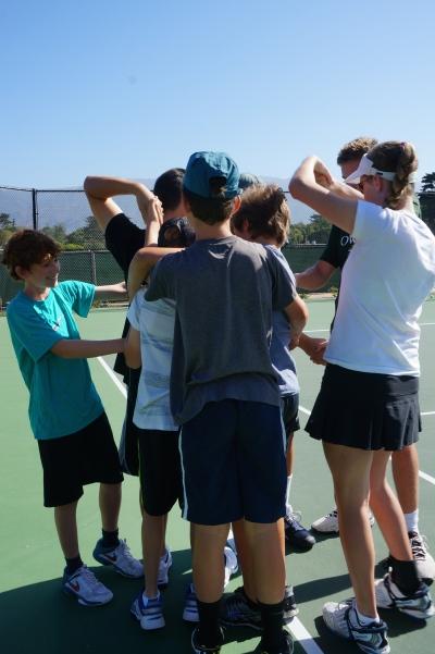 Laguna Blanca Tennis Camp 2014 Human Knot