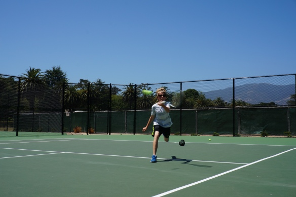Lucian Prinz great get at Laguna Blanca Tennis Camp 2014