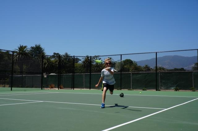 Lucian Prinz great get at Laguna Blanca Tennis Camp 2014
