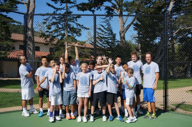 Laguna Blanca Tennis Camp 2014 Goofy Group Photo Thorpe Tennis