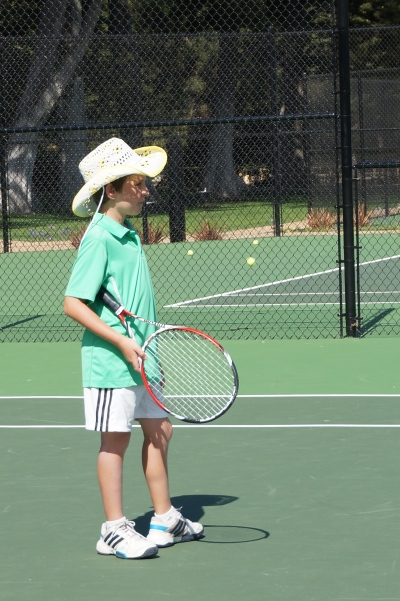 Harrison Fell Tennis Cowboy Laguna Blanca Tennis Camp 2014
