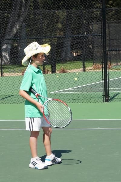 Harrison Fell Tennis Cowboy Laguna Blanca Tennis Camp 2014