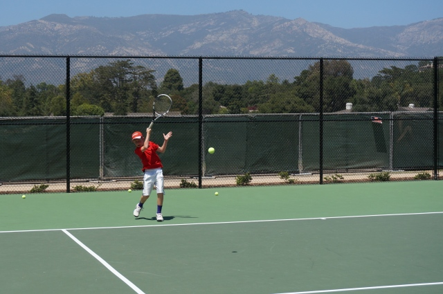 Alexander Fell at Laguna Blanca Tennis Camp 2014