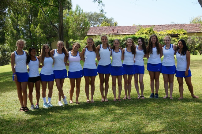 Cate Girls' Tennis Team Photo 2014 Varsity
