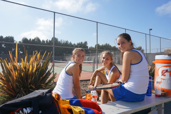 Cate Seniors Tennis Oxnard Match 2014