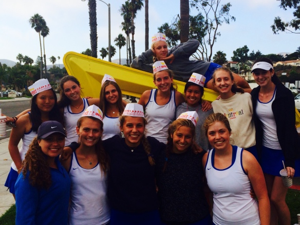Cate Girls' Tennis at In-N-Out