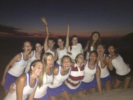 Cate Girls on Sand Hill in Malibu