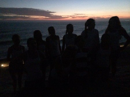 Cate Girls on Sand Hill Malibu