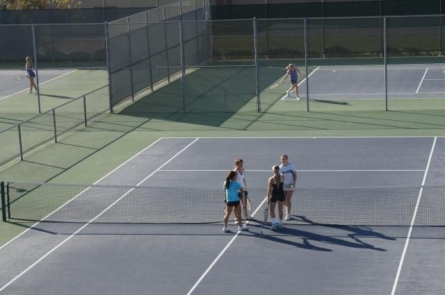 Julia Gan McKenna Madden dominate opponents Thorpe Tennis