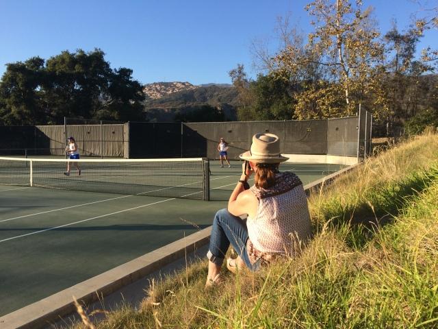 Parent involvement at Cate Tennis Cara Christensen
