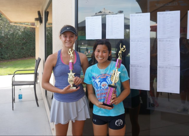 Julia Gan wins Oxnard Junior Winter Tournament