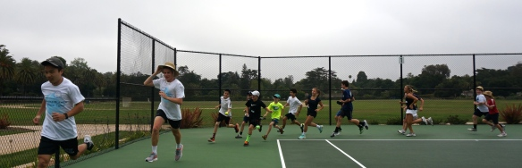 Laguna Summer Tennis Camp Warmup