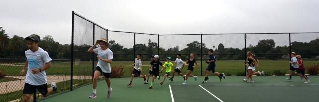 Laguna Summer Tennis Camp Warmup