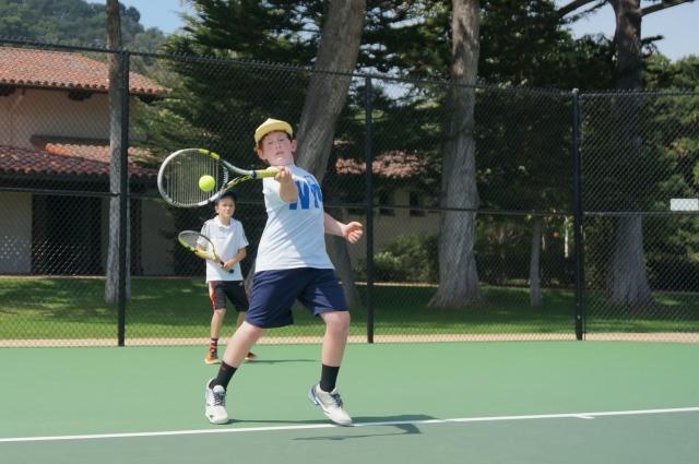 Ben Newton tennis forehand