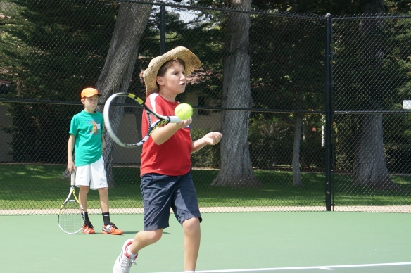 Harrison Fell forehand hat