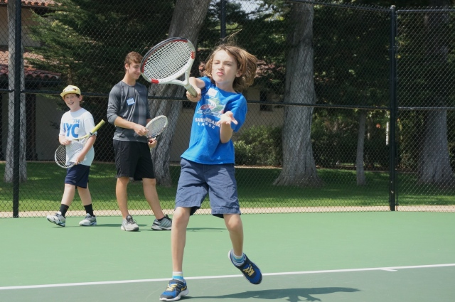 Wesley Schulz Forehand Laguna Tennis Camp