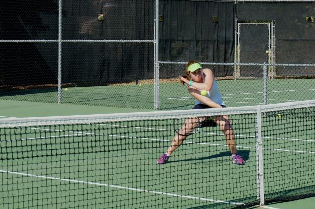 Summer Christensen Reflex Volley in Practice