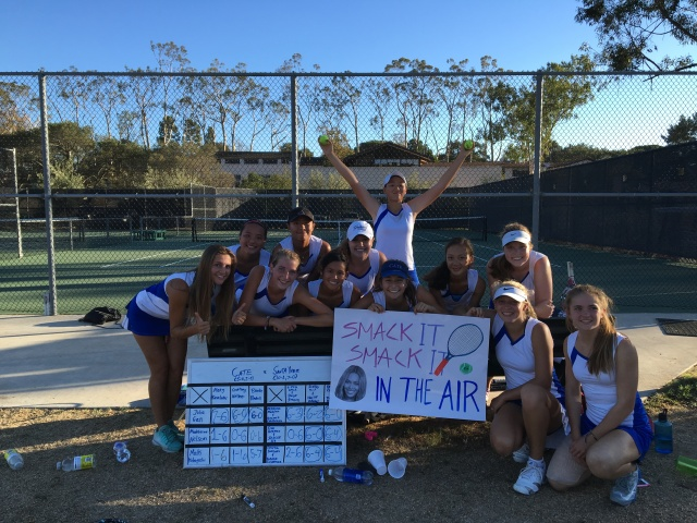 Cate girls tennis remains unbeaten, beyonce approves