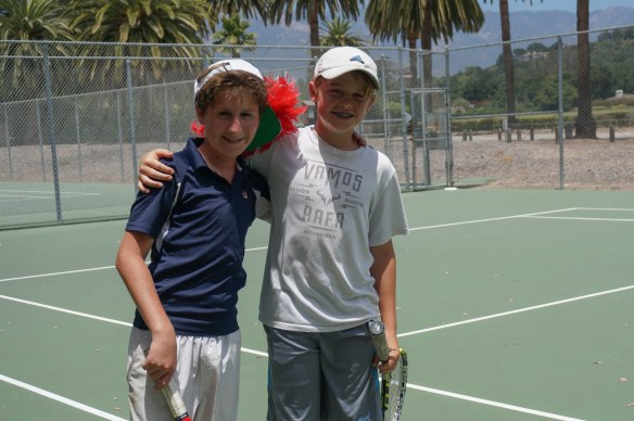 Tennis Camp 2016 2-12
