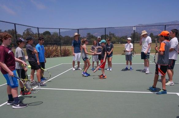 Tennis Camp 2016 2-3