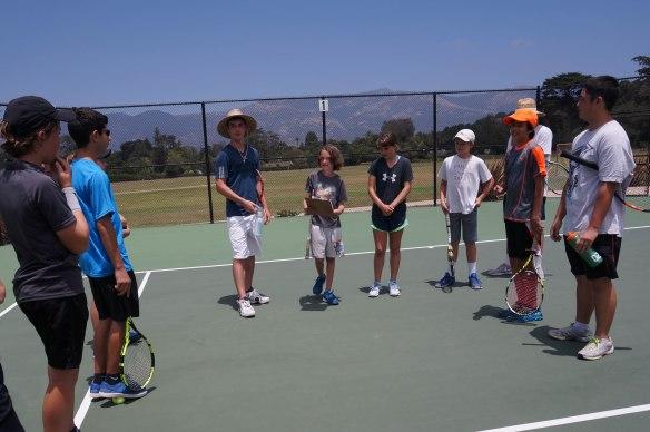 Tennis Camp 2016 2-5