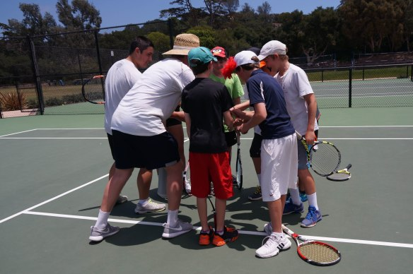 Tennis Camp 2016 2-7